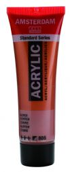 Amsterdam Standard Series Art Acrylic Paint Small Size tube 20 ml - Copper